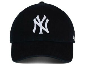 promo code 9c4ed d66e3 Image is loading New-York-Yankees-47-Brand-Clean-Up-Adjustable-