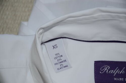 Ralph Lauren Purple Label Made in Italy Cotton Blend Stretch Casual Shirt