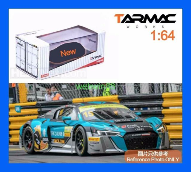 Tarmac Works 1:64 Hobby64 AUDI R8 LMS FIA GT World Cup Macau 2016 Winner #8 Red