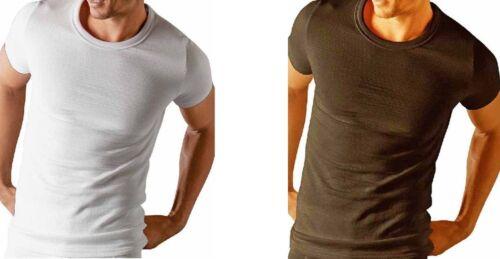 Absolute Apparel Mens Slim Fit Short Sleeve Adult Thermal Tshirt