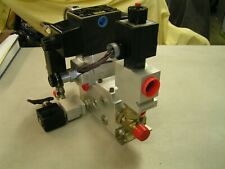 Parker D3w1cnyc 30 Hydraulic Manifold Assembly Parker Sun Flow Control Metering