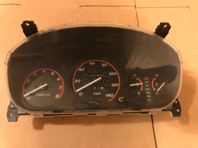 HONDA CRV 1997 2.0 AUTO INSTRUMENT CLUSTER / SPPEDO / CLOCKS 78100-S10-E100
