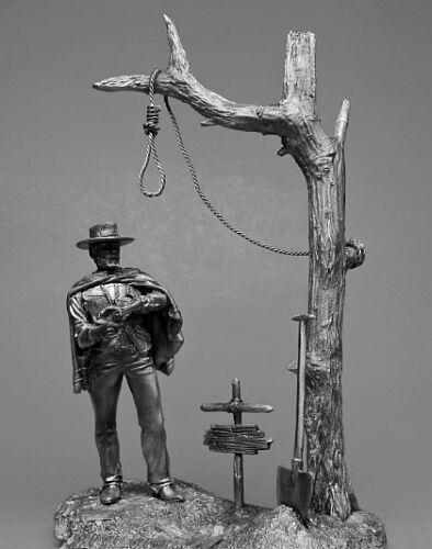 "USA D-001 Evil/"" Bad Tin Figure /""Good Clint Eastwood"