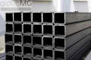 Quadratrohr Stahlrohr Hohlprofil Stahl Vierkantrohr Länge 4000 mm