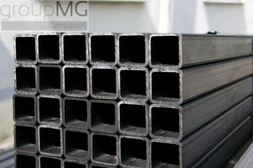Quadratrohr Stahlrohr Hohlprofil Stahl Vierkantrohr Länge 1000 mm
