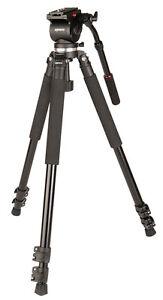 Kenro-Standard-Video-Tripod-Kit-VH01B-Fluid-Head-VT102-UK-Stock-BNIB