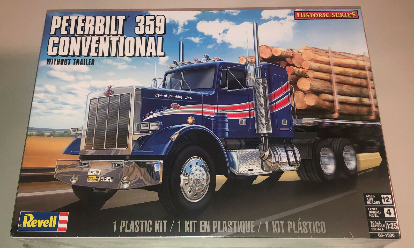 Peterbilt 359 Conventional 1 25 Scale Revell Germany 7412 Release For Sale Online Ebay