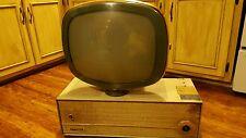 Philco Predicta 17 Inch Vintage Black & White Television RARE Mid Century 1950s