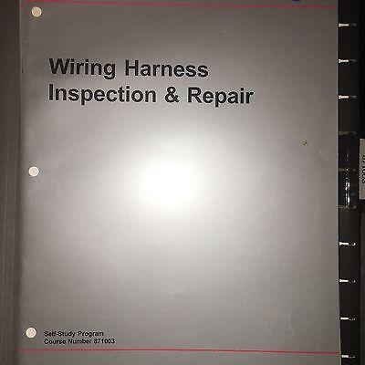 vw manual 871003 volkswagen wiring harness service \u0026 repair training manual exam ebay Safety Harness Repair