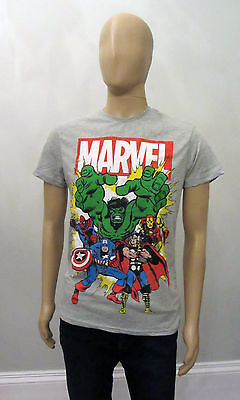 PRIMARK Mens Official MARVEL AVENGERS SUPERHERO T Shirt