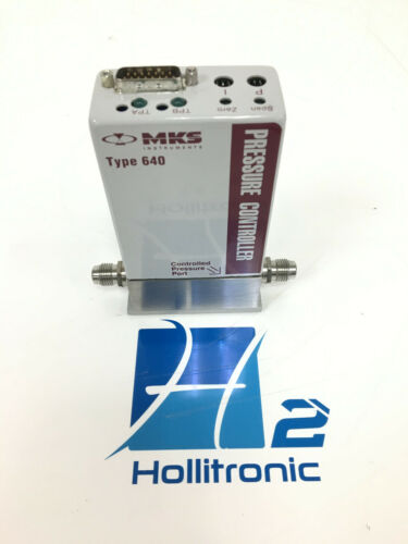MKS TYPE 640A 100 TORR PRESSURE CONTROLLER *USED*