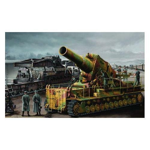 Trumpeter 1 35 Morser Karl-Gerat Rail Morta Plastic Model Kit TM00209