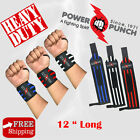 Power Punch Gym Weight Lifting Wrist Support Strap Exercise,fitness,bodybuilding
