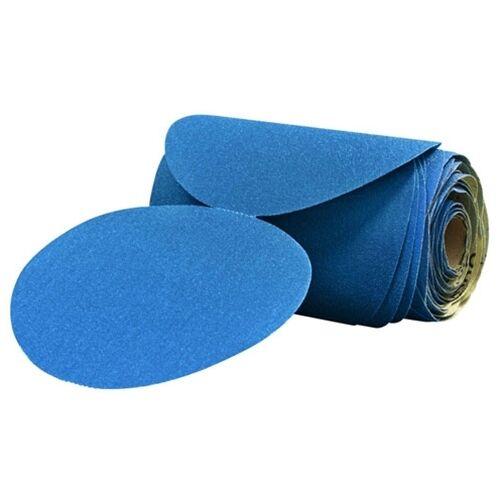 "3M Stikit 6/"" Blue Abrasive Disc Rolls 1 Roll of 100 Discs 220 Grade 36207"