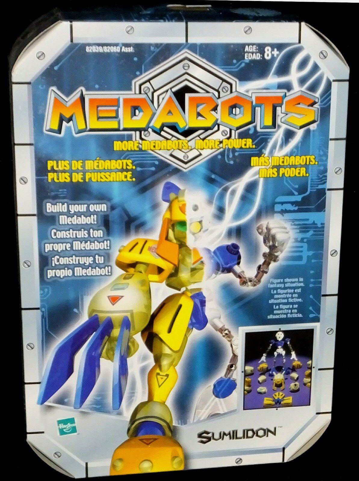 Medabots Build Your Own Kits 6  Sumilidon New Factory Sealed Hasbro Medared 1997