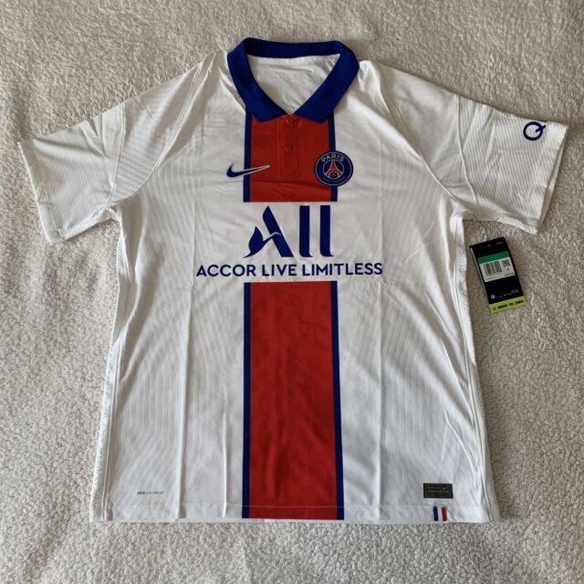 Paris Saint-Germain Jersey 2020/21 20/21 Authentic Vapor Away PSG Soccer XL