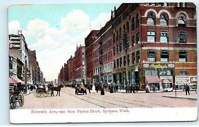 Spokane Washington Wa 1908