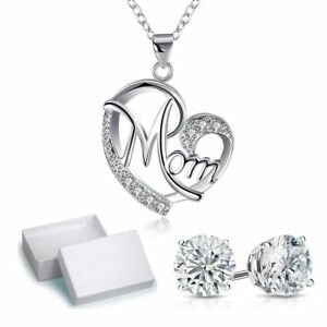 I-Love-You-To-The-Moon-and-Back-Necklace-Hearts-Pendant-Perfect-Gift-for-Women