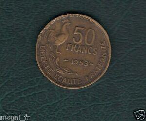50 Franken Guiraud 1953 ( Ref. 43 )