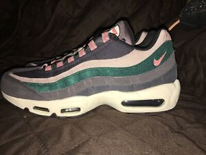 Details about Nike Air Max 95 PRM Oil Grey/Bright Mango Mens Size 10 538416-018 $180