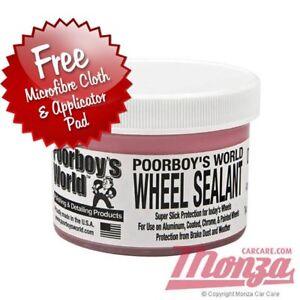 Poorboys Car / Motorbike Alloy Wheel Sealant Complete Kit **LONG