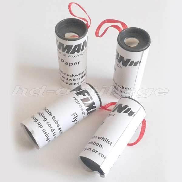 piège attrape mouche LOT DE 4 ruban à glue anti-mouche non-toxique