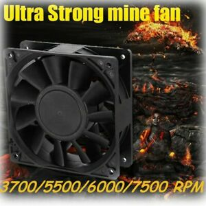 7500RPM-Mini-Cooling-Fan-Replacement-4Pin-120mm-12V-For-Antminer-Bitmain-S7-S9