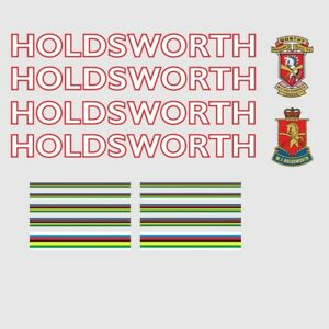 Decals Transfers 0648 Holdsworth Professional Bicycle Stickers