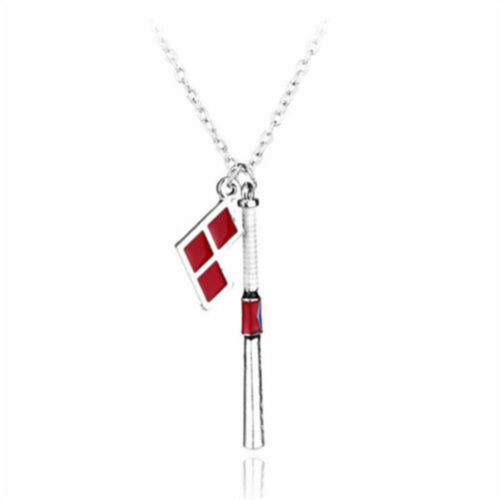 Fashion Suicide Squad Necklace Harley Quinn Accessories Pendants Chains Gifts UK