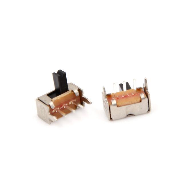 30pcs/set SK12D07 Right Angle Mini Slide Switch Power Switch 3P SPDT 2mm T1@