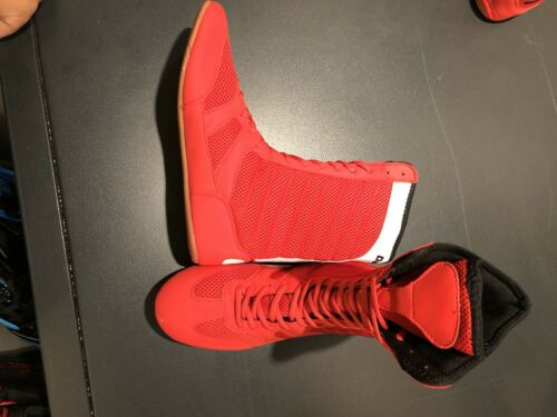 Lightweight High Length Boxing Shoes Red Or Blue Day Kay