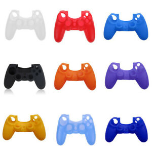 For-Playstation-4-PS4-Controller-Silicone-Rubber-Gel-Protective-Cover-Skin-Case