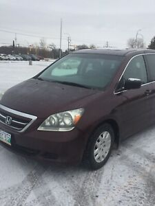 Honda Odyssey  LX 2007 with new safety call 204 997-0397
