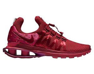 best website 9e3ca 97d3f La imagen se está cargando Zapatillas-Nike-Shox -gravedad-Mujer-AQ8554-606-Rojo-