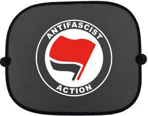 ANTIFASCIST-ACTION-Auto-Sonnenschutz