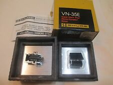 SHURE V15 TYPE III CARTRIDGE & NOS GENUINE SHURE VN35E STYLUS + DISPLAY CASE BOX