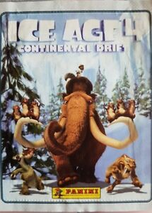 ICE AGE 4 CONTINENTAL DRIFT X5O LOOSE STICKERS