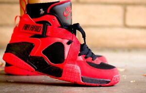 reputable site 6ec26 38ac7 Image is loading Nike-Air-Raid-9-Penny-Max-1-Red-