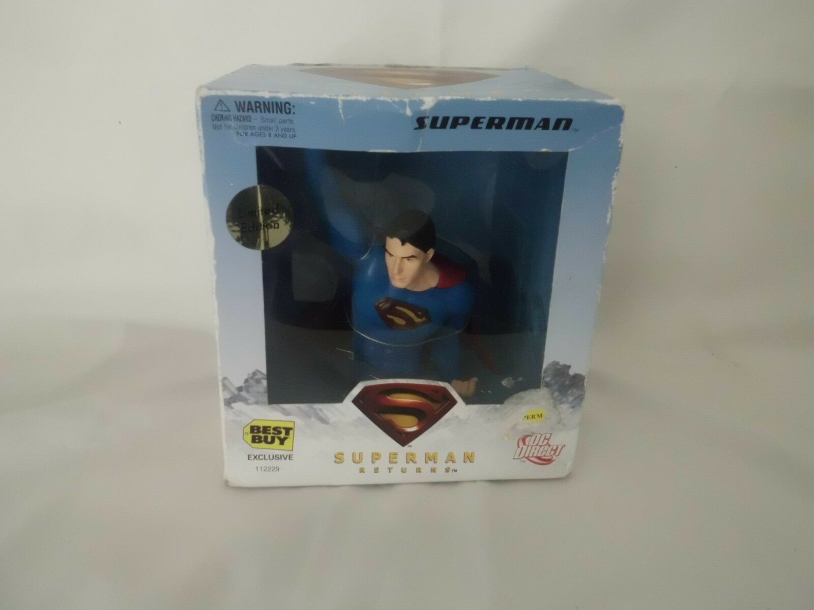 Large Superman Model Bust Limited Edition