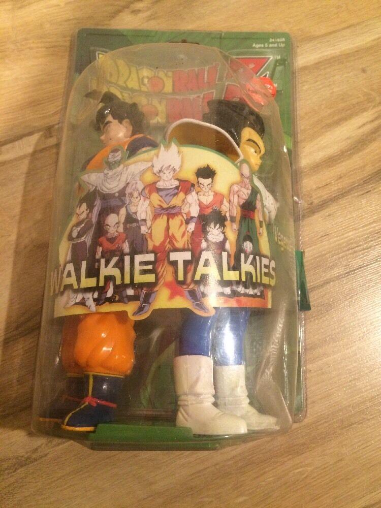 1999 MGA Entertaiment  Dragon Btutti Z Walkie Talkie Goku & Vegeta  cifras DBZ  marchio famoso