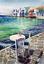 Indexbild 1 - Watercolor painting. Greece. Sea view. Aquarell Gemälde. impressionism seascape