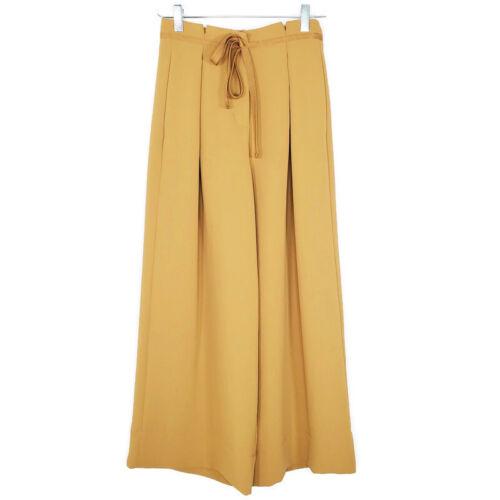 Aritzia Wilfred Womens Cropped Wide Leg Pants 2 Hi