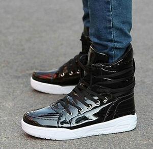 2013 fashion hot korean mens sneakers short boots leisure