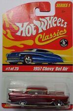 Hot Wheels Classics Series 1 1957 Chevy Bel Air 1/25 (Orange Version)