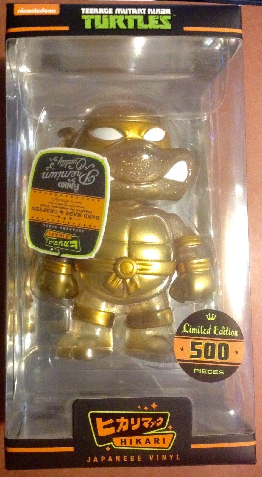 FUNKO Hikari Hikari Hikari Vinyl gold TMNT 1 of 500 Teenage Mutant Ninja Turtles FREE SHIP d02fad