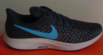 Nike MEN'S Air Zoom Pegasus 35 Shoe Navy Blue White 942851 401 Sz 9 13 NIB | eBay