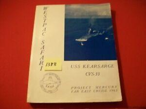 WESTPAC-SAFARI-USS-KEARSARGE-CVS-33-PROJECT-MERCURY-FAR-EAST-CRUISE-BOOK-1963-SC