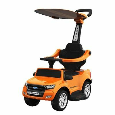 Bobby Car Kinderfahrzeuge 2019 Neuestes Design Rutschauto Ford Ranger Kinderauto Schiebeauto Lizenz Rutschfahrzeug 4in1 Orange Tropf-Trocken