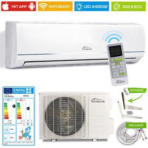 Split Klimaanlage Lokales Klimagerät 12000 BTU R32 4in1 Komplettset WLAN Eco
