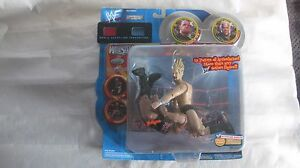 WWF WrestleMania XVII Finishing Moves Triple H VS Rikishi Pedigree 2001 NEW t814